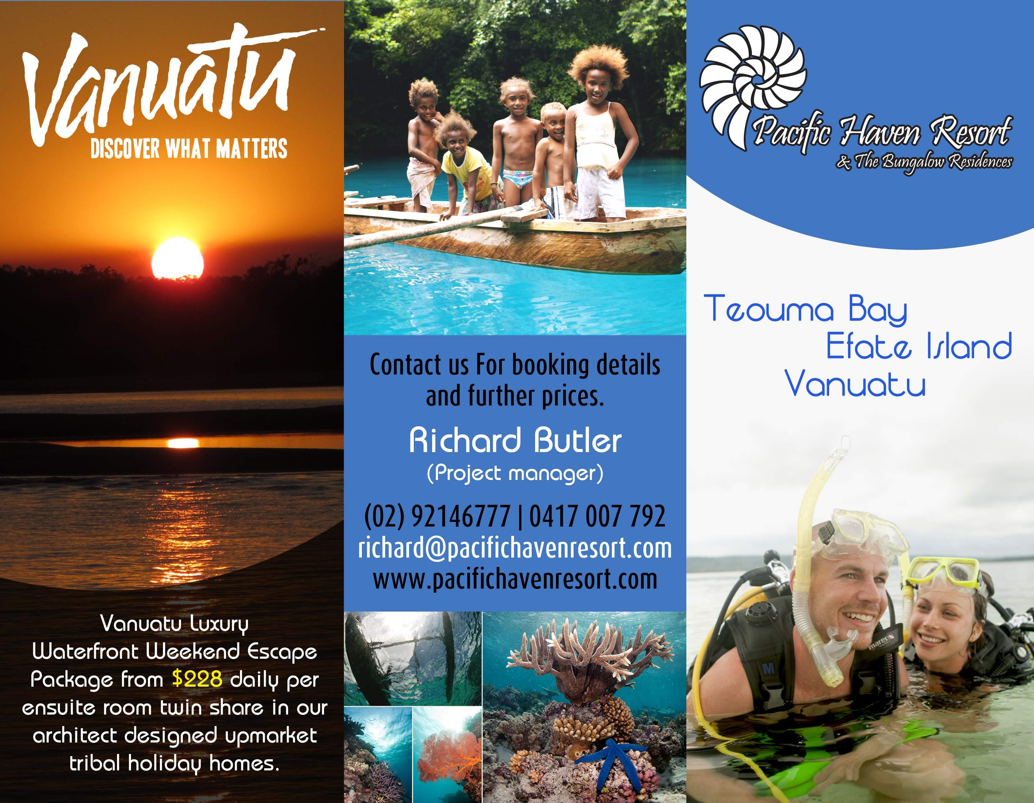 Vanuatu. the untouched paradise