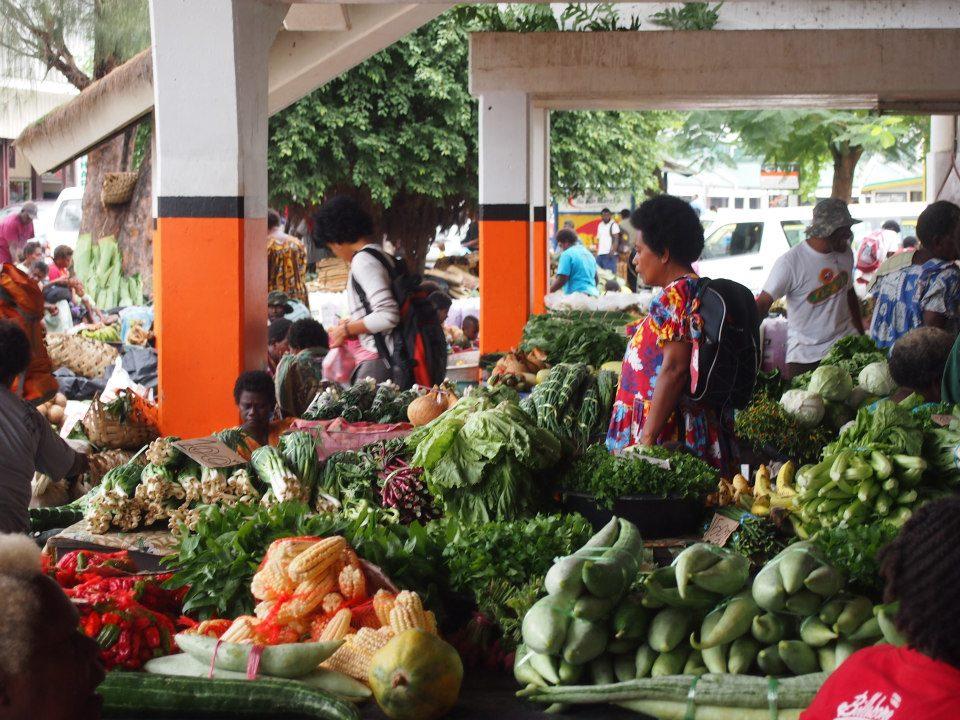Vanuatu Markets Efate