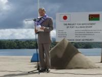 Vanuatu-Japan Wharf project