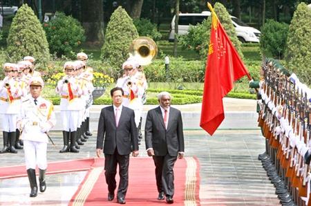 Vanuatu PM Joe Natuman visits Vietnam
