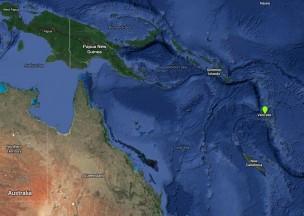 Malekula is in Vanuatu. (Courtesy Google Maps)