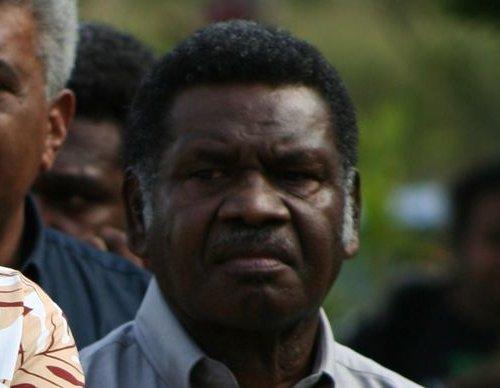 Vanuatu's Deputy Prime Minister Ham Lini, Photo: RNZI