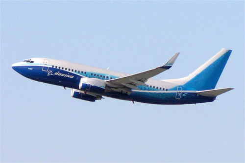 Boeing 737-800 in Corporate Colours