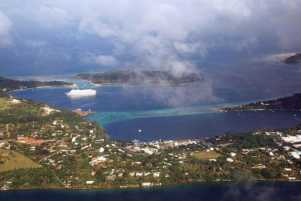 port vila harbour view