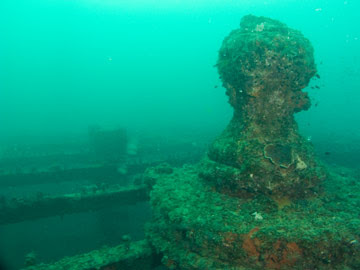The forward capstan of the Star of Russia