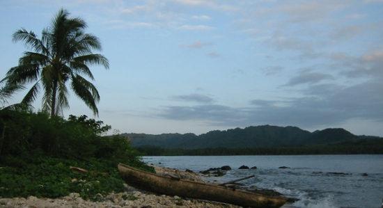 Beach on Malekula Island