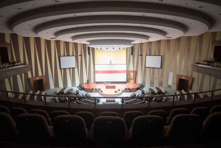 Auditorium invites conventioners to interact