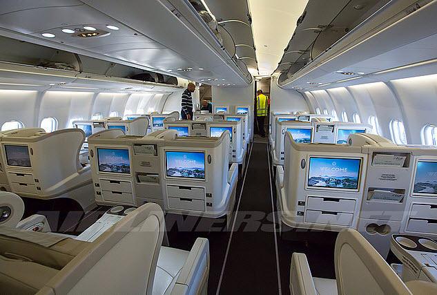 Airbus luxury seating
