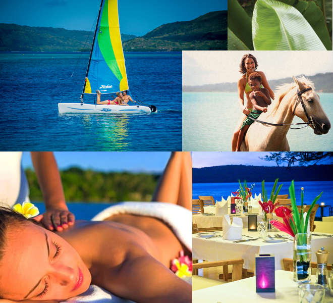 Vanuatu provides many luxury options