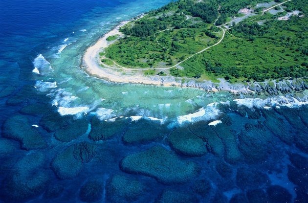 SAMI SARKIS VIA GETTY IMAGES A blue-water cape on Efate, one of Vanuatu's main islands.