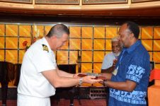 Prime Minister of Vanuatu Welcomes Costa Atlantica