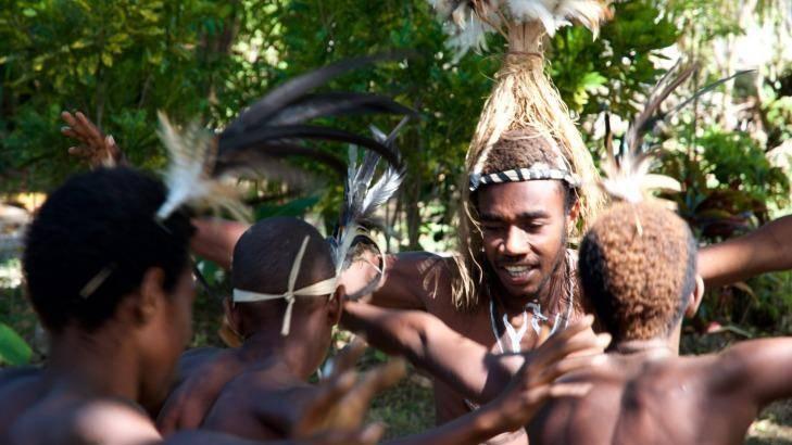 Smol nambas ceremonial dance.