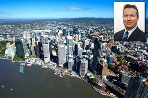 Ian Adams, Brisbane City Planner