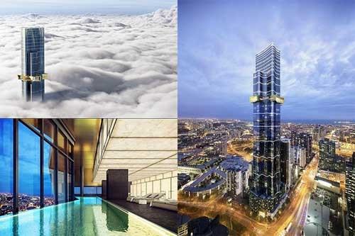 Melbourne's highest apartment building