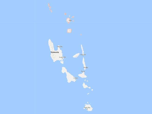 Torba province comprises the northernmost islands of Vanuatu. Its capital village, Sola, is on Vanua Lava. Picture: Google MapsSource:Supplied