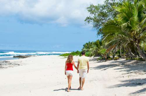 Couple on Vanuatu Beach