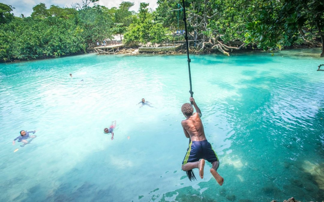 Vanuatu Total visitor arrivals rose by 23 percent over the previous month and 35 percent over the year
