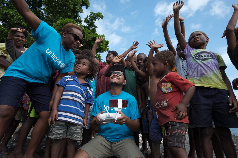Vanuatu Vaccines Delivered From the Skies