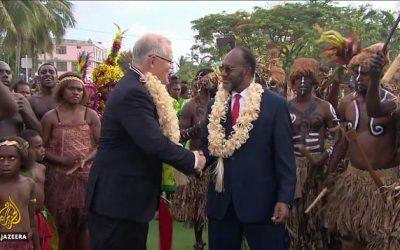 Australia courts Vanuatu