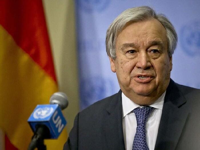 UN Secretary General Antonio Guterres. Photo: The Economic Times