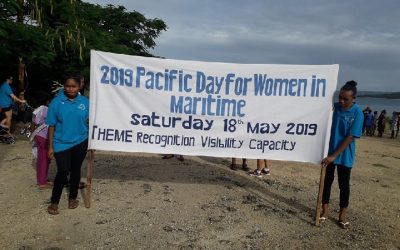 Vanuatu part of Pacific Women in Maritime celebrations