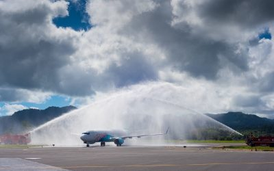 Inaugural Melbourne- Port Vila Flight Launched