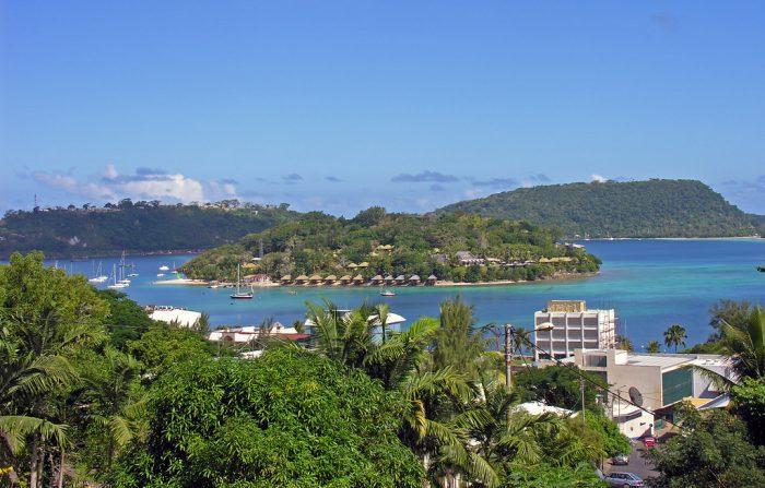Vanuatu's laidback capital, Port Vila