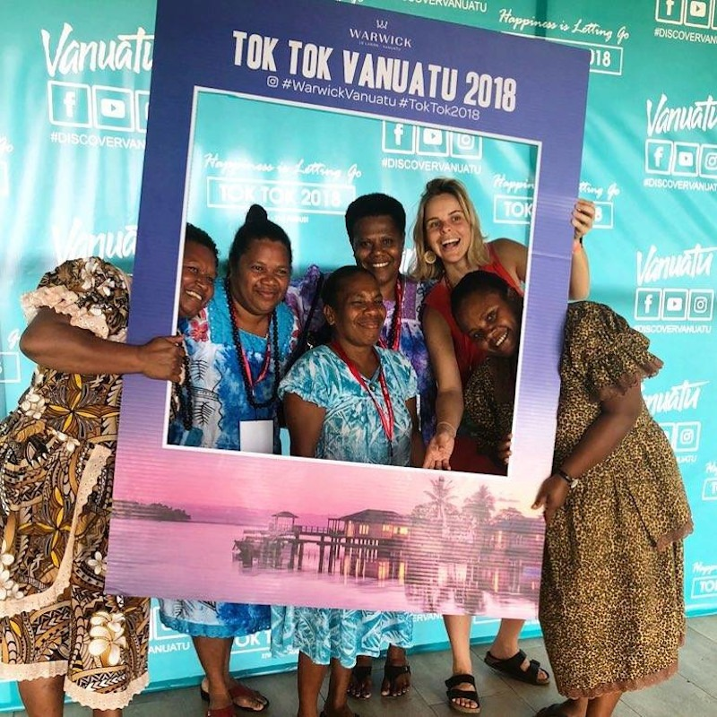 Vanuatu's Tok Tok tradeshow invites Australian wholesalers to discover a more exciting way to relax