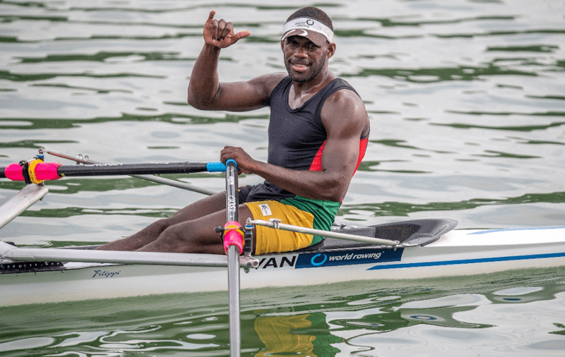 Rillio Rii Personal Best at World Rowing Championships 2019