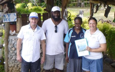 First snorkel trail in Vanuatu launched in North Efate