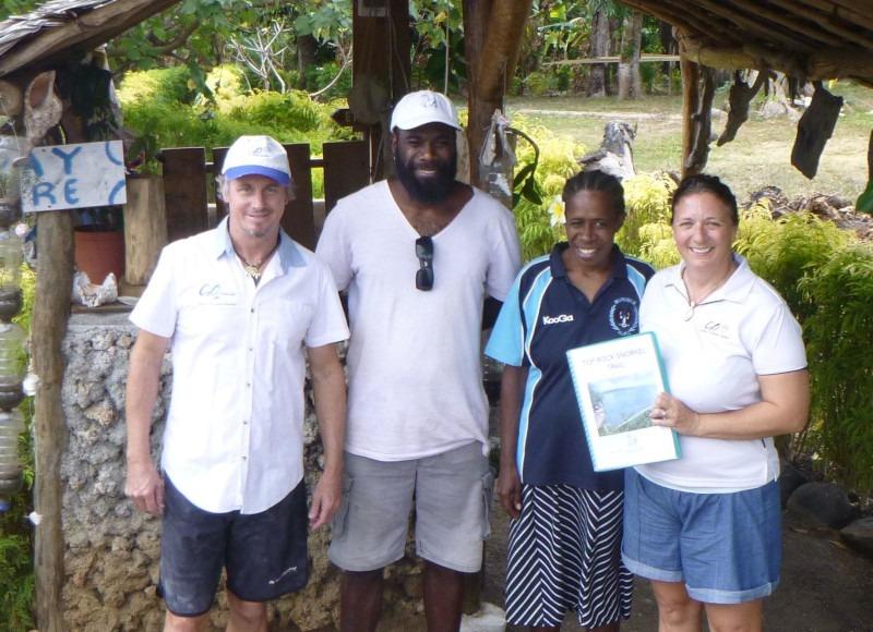 First snorkel trail in Vanuatu launched in North Efate
