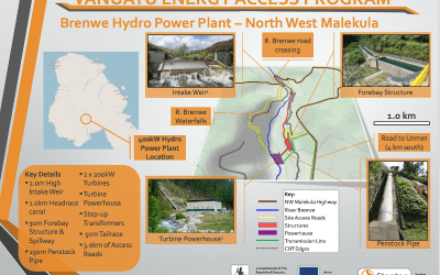 Brenwe Hydro Tender awarded to NZ joint venture company