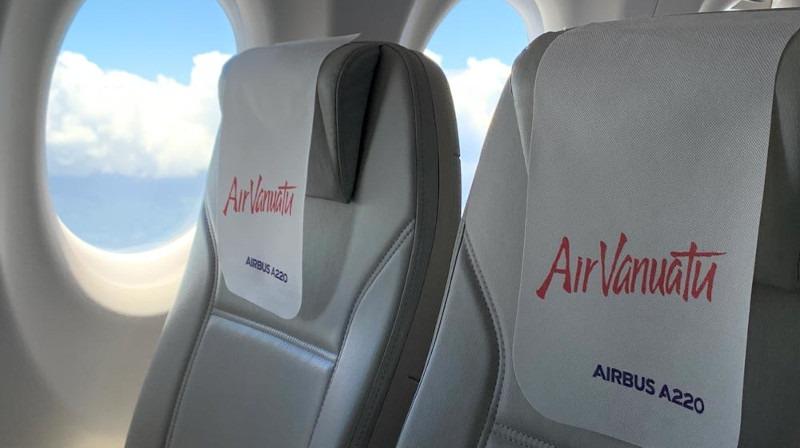 Airbus A220 To Visit Vanuatu