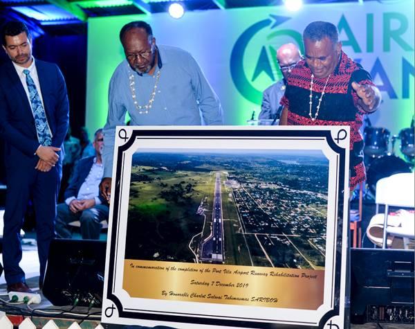 Upgraded Bauerfield Airport Runway Opens