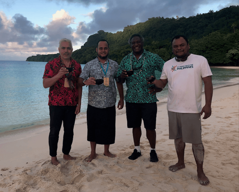 Vanuatu Palau and Cook islands agree on 2020 sustainable pledge to be asked for by all tourists