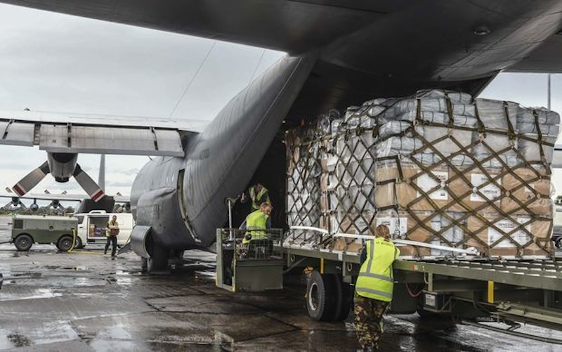 Japan sends aid to Vanuatu as attention for island grows