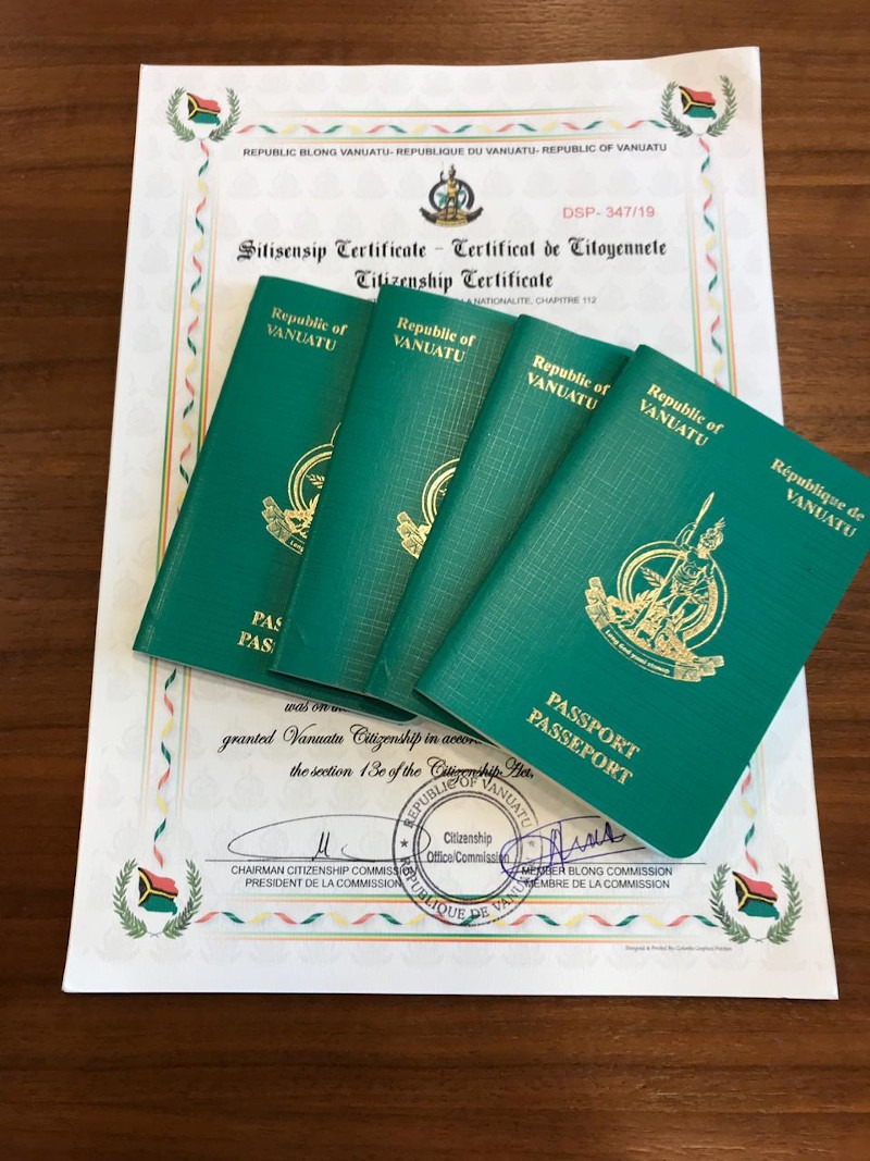 VANUATU PASSPORT BEATS OUT THE COMPETITION: NOW #10 IN THE WORLD