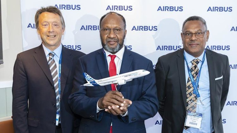 Air Vanuatu Finalizes A220 Project Financing