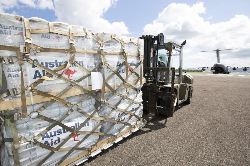 AUSTRALIA RESPONDS WITH VT310 MILLION CYCLONE RELIEF PACKAGE