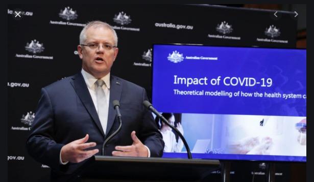 Australia's PM Scott Morrison on the Corinavirus recovery