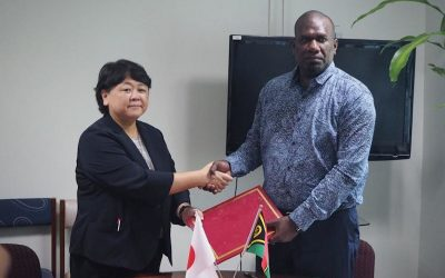 Japan Formalises VT320 million Grant Aid for Medical Equipment to Vanuatu