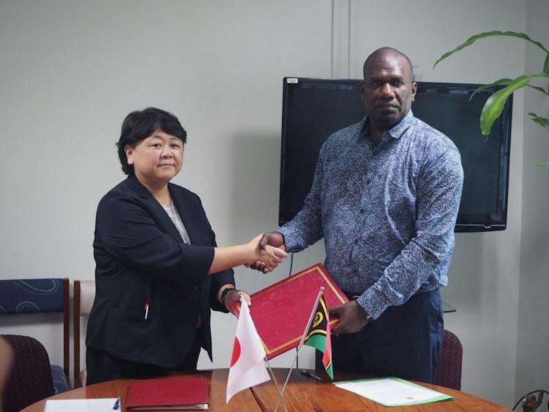 Japan Formalises VT320 million Grant Aid for Medical Equipment to Vanuatu