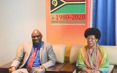 Yumi 40: Australia's Governor-General congratulates Vanuatu's President on 40th Independence anniversary