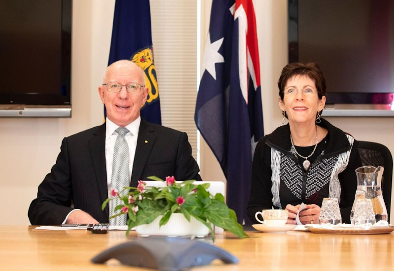 Australia's Governor-General congratulates Vanuatu's President