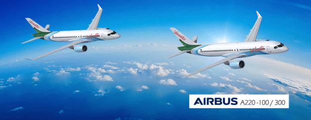 Air Vanuatu Airbus A220