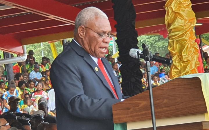 Vanuatu PM says country will be classed as 'developed' by year end