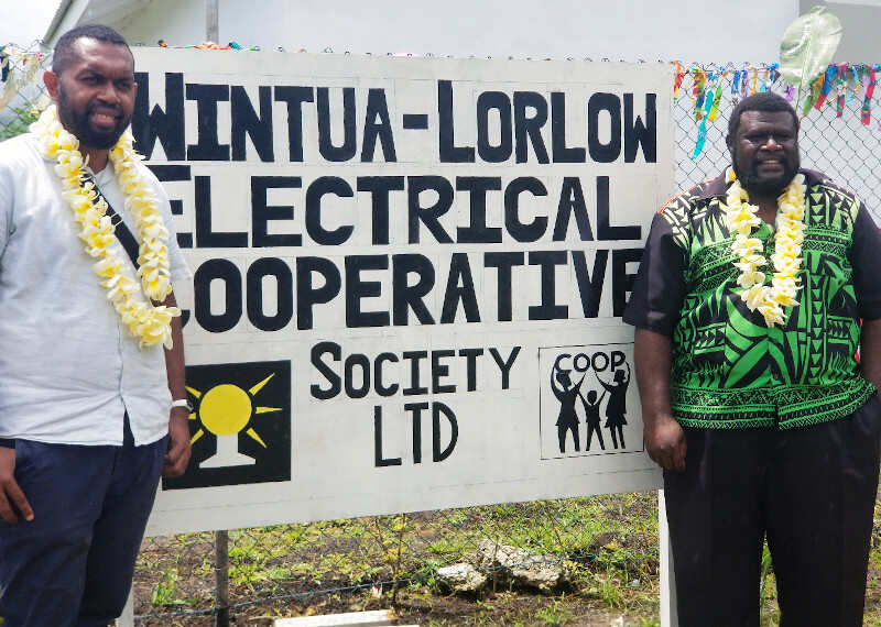 Vanuatu launches country's first-ever community-run solar station