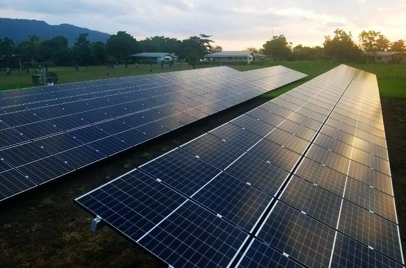 community-run solar station