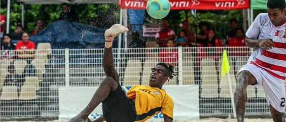 Vanuatu beach soccer on the rise again