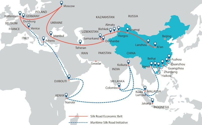 The Belt & Road Initiative Is Not A Plan For World Domination Through Global Trading Networks